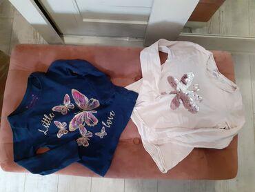 Primark i Blukids piši-briši majice digih rukava sa leptirima 110