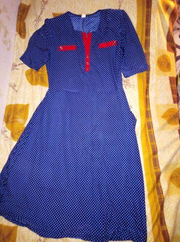 платье на лето в Кыргызстан: Платье 50р пару раз надели суперское на лето материал холодок 150с