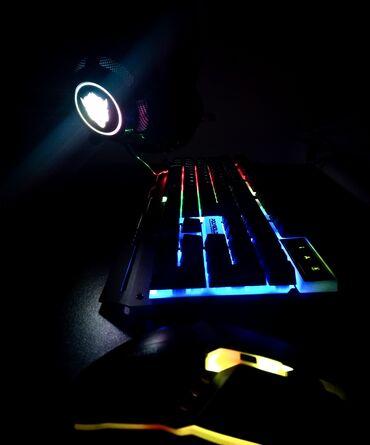 зарядный кабель usb в Азербайджан: Klaviatura maus. Klaviatura maus (siçan) yeni-keyboard mause set g700
