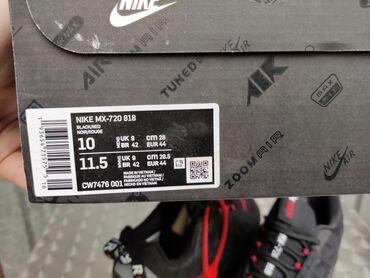 Nike MX 720-818 Black/Red Nike Pakovanje-TOP Model-Vidi SlikeNike