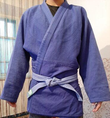 Спорт и хобби - Манас: Продаю кимоно Дзюдо Б/ У на 170 - 175см 900 сомБанковской карты нет