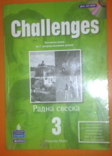 Knjige, časopisi, CD i DVD | Kragujevac: CHALLENGES 3 + CD ZA 7. RAZRED RADNA SVESKA I PRATEĆI CD IZ ENGLESKOG