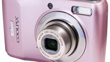 Nikon coolpix l19 fotoaparat sa uputstvom za upotrebu, roze boja, - Belgrade