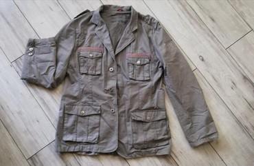 Muška odeća | Futog: Muska jakna od kepera L velicina extra. Ramena 49cm, rukav 65cm