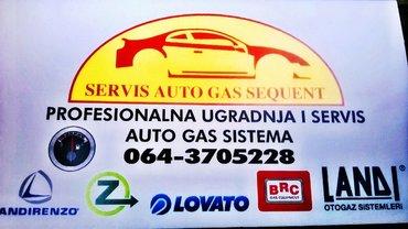 Auto Gas servis Slavisa Novi Sad. Profesionalna ugradnja, servisiranje