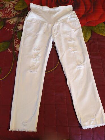 удобный фотоаппарат в Кыргызстан: Продаю брюки для беременным.Цвет белый.Материал:джинсы очень