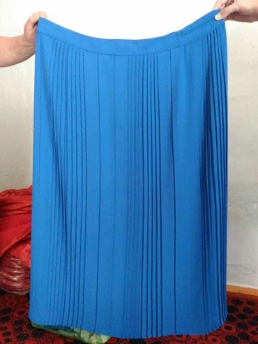 Яркая юбка большого размера в новом в Бишкек