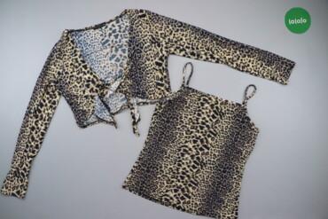 Жіночий комплект одягу з майки та кофти Dong Yuan, p. S-M   Довжина ко