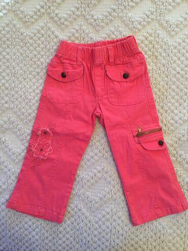 Dečija odeća i obuća - Pirot: Pantalone za devojcicu, vel. 2, jedanput nosene