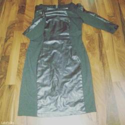 Платье на повседневку с кожаными в Бишкек
