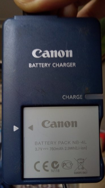 Canon charger and battery в Bakı