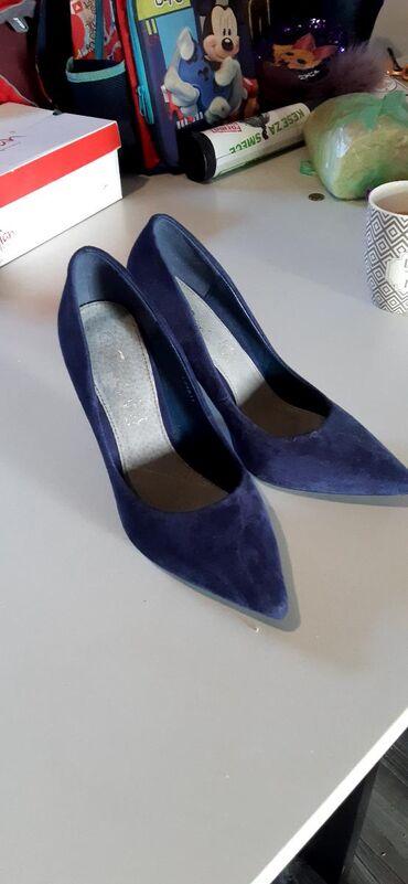 Ženska obuća | Kovilj: Shafran cipele tamno plave broj 39 jednom nosene