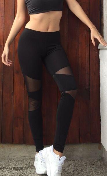 Ženske pantalone - Srbija: Helanke ~ Mokra likra i til ~ NOVOMaterijal od koga proizvodimo