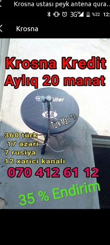 zolaqli kisi sviteri - Azərbaycan: Krosna krosnu kros peyk antenaların kreditlə və nəğd quraşdırılması