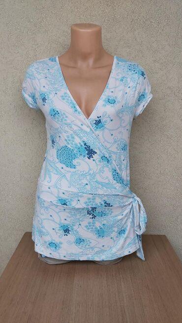 Košulje i bluze | Pozarevac: GINA TRICOT viskozna bluza na preklopDuzina 68cmGrudi 42cmRamena