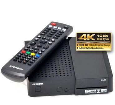 TV/video üçün aksesuarlar Gəncəda: Openbox AS4KUHD4K formatini destekleyir,ntv+ aktivdiХарактеристики
