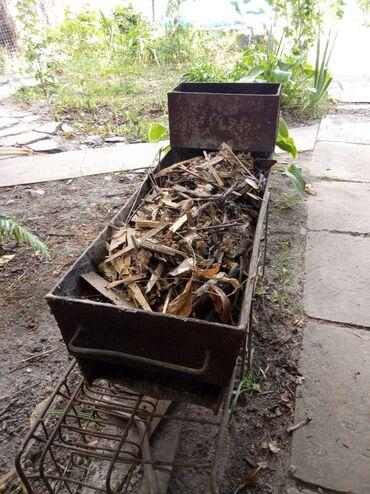smoker koptilnja gril mangal в Кыргызстан: Мангал из металла толщиной в 5 мм, рифленное