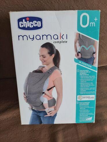 Paket sadrzi - Srbija: Myamaki CHICCO nosiljka za bebe, kao nova, potpuno ocuvana u