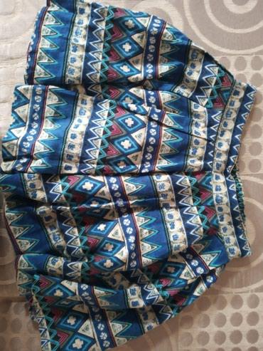 Летняя юбка. В талии тянется. В хорошем состоянии. в Бишкек