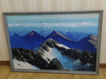 """Продаю очень красивую картину ручной работы. Размер 120×80 """"Бакиев"""