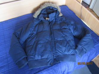 Muska zimska jakna marke blend sa kapuljacom,velicina l. Nosena jednu