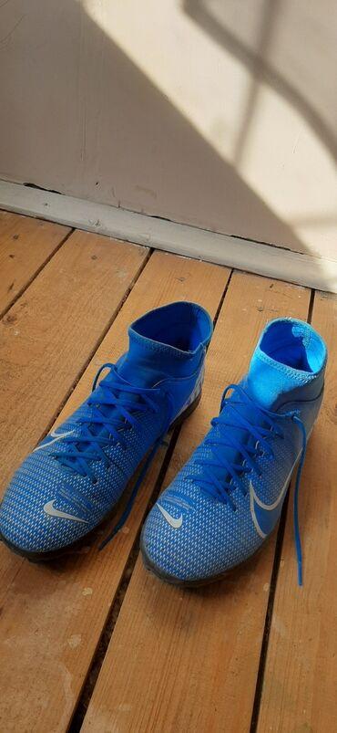 футбольные бутсы в бишкеке in Кыргызстан | БУТСЫ: Продаю сороконожки оригинал Nike Mercurial Купил в Турции. Размер 42/5