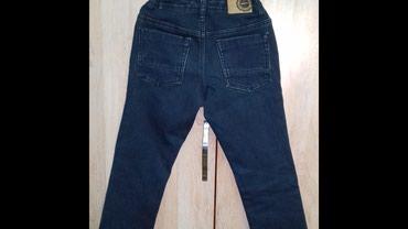 Джинсовые брюки утепленные, на 7 лет, состояние хорошее. в Бишкек