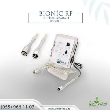 Rf lifting aparati  bi̇oni̇c rf (bes-s-01-3) aparati  bionik rf aparat
