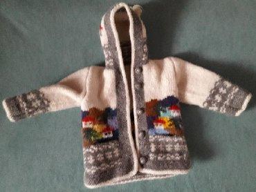 Vuneni džemper, ručni rad. Super očuvan - Nis