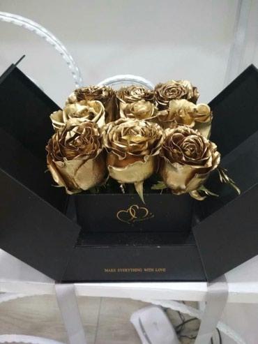 Золотые розы-хит продаж этого года! в Бишкек