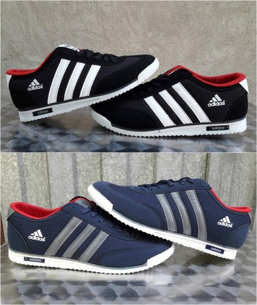 Adidas muske patike 2 boje#novo#crne i teget-br. 40-44! Adidas potpuno - Nis