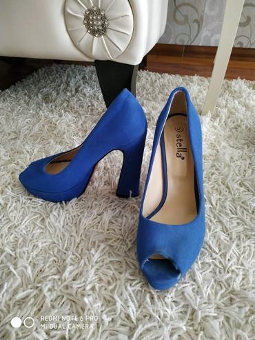 синие туфли на каблуках в Кыргызстан: Продается туфли на высоких каблуках