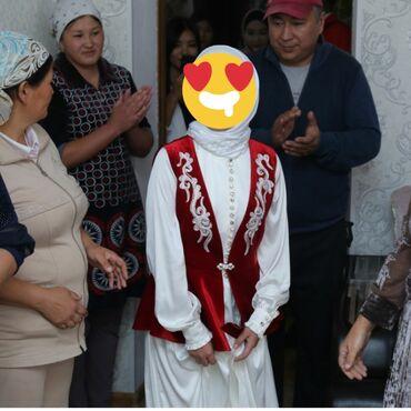 платья kg бишкек в Кыргызстан: Прокат Платья на кыз узатуу+чыптама