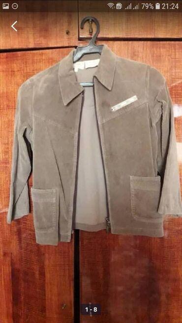 Пиджак вельветовый. Разм 9-11лет. Состояние хорошее. Кофейного цвета
