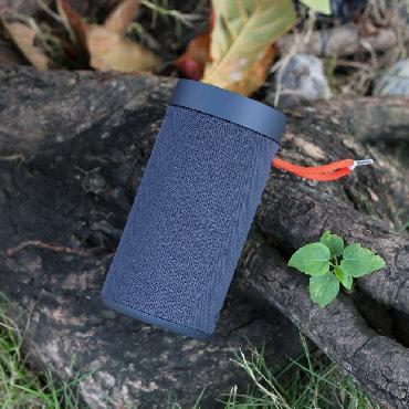 Колонка Xiaomi Mi Outdoor Bluetooth Speaker Dark Grayпокрыта бесшовной