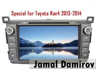 Bakı şəhərində Toyota Rav4 2013 üçün DVD- monitor, DVD-монитор для Toyota Rav4 2013.