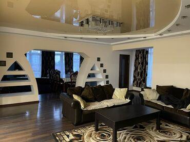 4 комнатные квартиры в бишкеке цена в Кыргызстан: 4 комнаты, 170 кв. м С мебелью