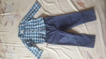 Kosuljica i pantalone za dete vel 86-92