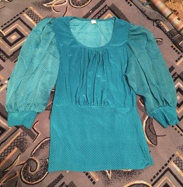 Женская блузка новая ткань шифон 👍👍👍44-46 размер  в Бишкек