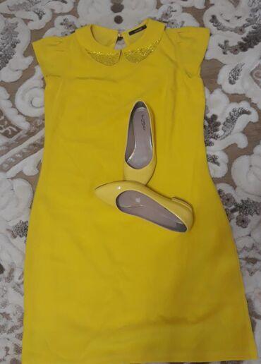 Продаю платье и балетки в идеальном состоянии. Цена за все. Платье 44-