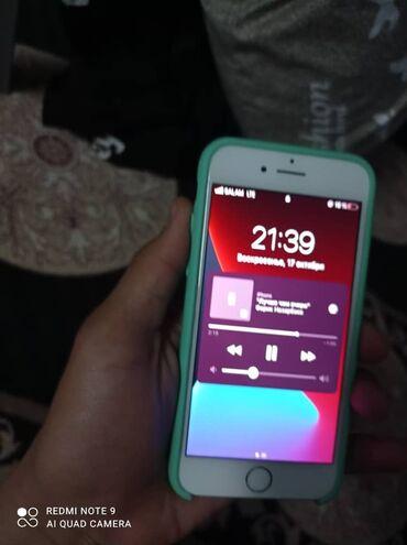 суточный квартира кызыл кия in Кыргызстан   АВТОЗАПЧАСТИ: IPhone 7   32 ГБ   Серебристый Б/У   Гарантия, Отпечаток пальца