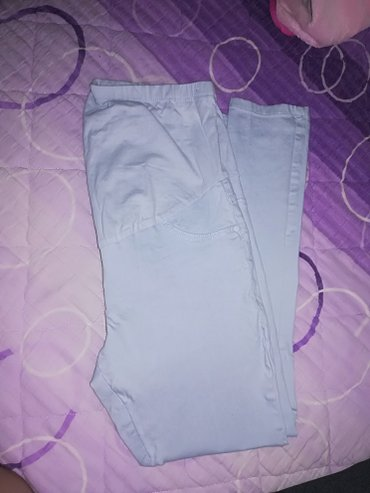 Gratis maslinasto zelene m/l. Trudnicke pantalone vel. 40,par puta - Leskovac