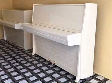 750 AzN den baslayan ag pianolar 20% endirim edilib butun