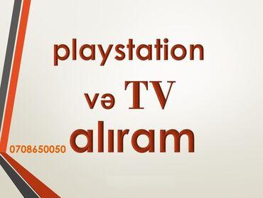 televizorlar - Azərbaycan: Playstation 3/4 və televizor alıram. LED TV, 108 ekran, problemsiz
