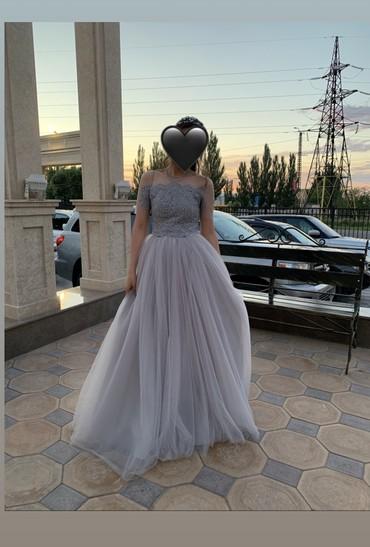 dzhinsy i plate в Кыргызстан: Продаю или даю на прокат платье серого цвета. Надевала на три часа,сос