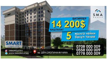 Строится, Элитка, 2 комнаты, 71 кв. м