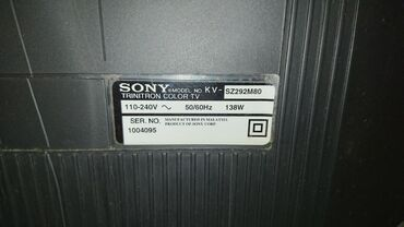 "Sony Televizoru 80"" saz vezyetdedir iwleyir hec bir prablemi"