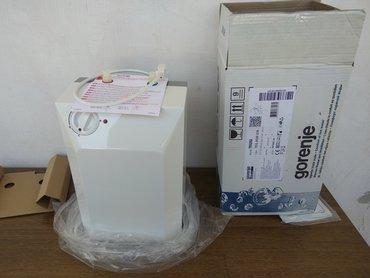 Gorenje bojler teg 5 u RasprodajaNov bojler, samo izvadjen iz kutije