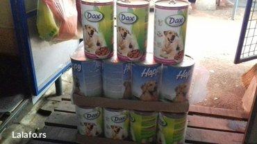Dostava hrane - Srbija: Konzerve za pse 1240g licno preuzimanje zrenjanin na vece kolicine