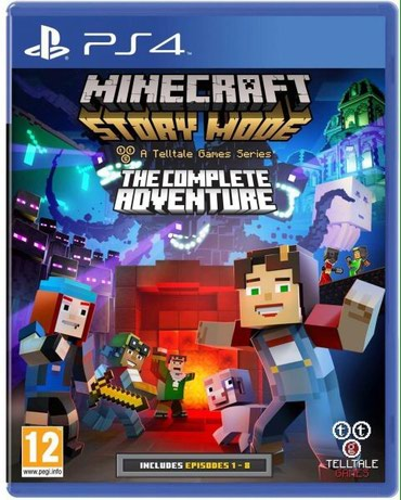 Ps4 ucun Minecraft story mode the complete adventure oyunu tam bagli - Bakı